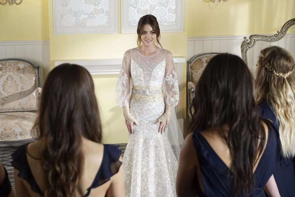 L'abito da sposa di Aria in Pretty Little Liars