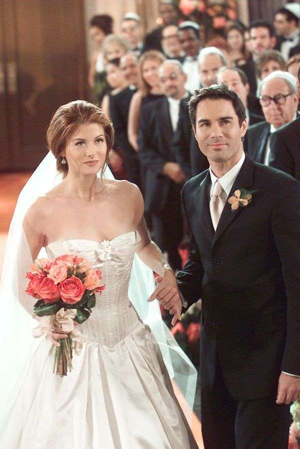 L'abito da sposa di Grace in Will & Grace