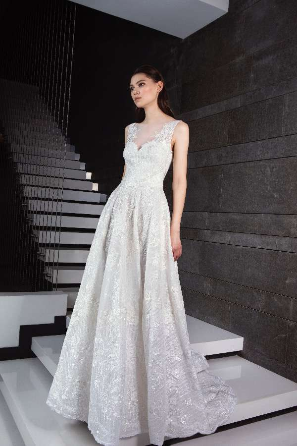 Abito da sposa con gonna ampia Tony Ward