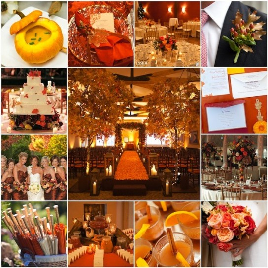 wedding ideas autumn fiori e decorazioni per un matrimonio autunnale foto 27741