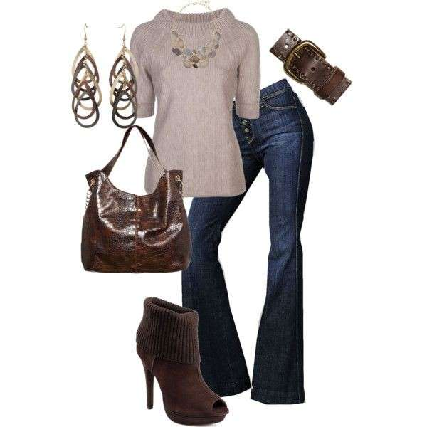 Look chic con ankle boot peep-toe