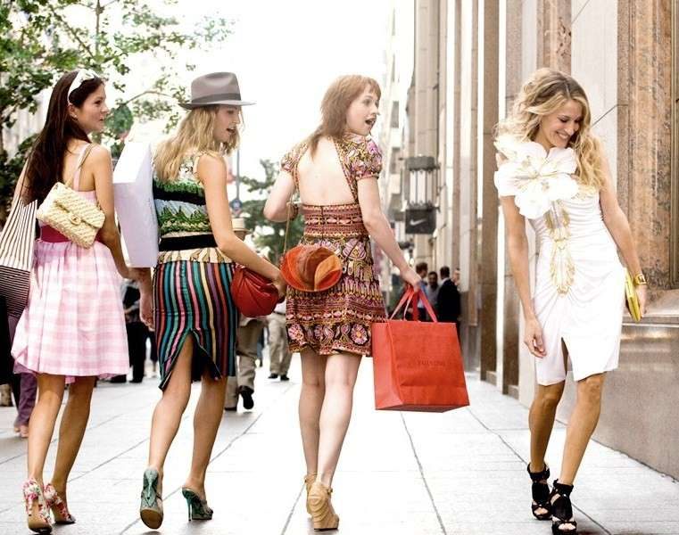 Look in bianco per Carrie Bradshaw