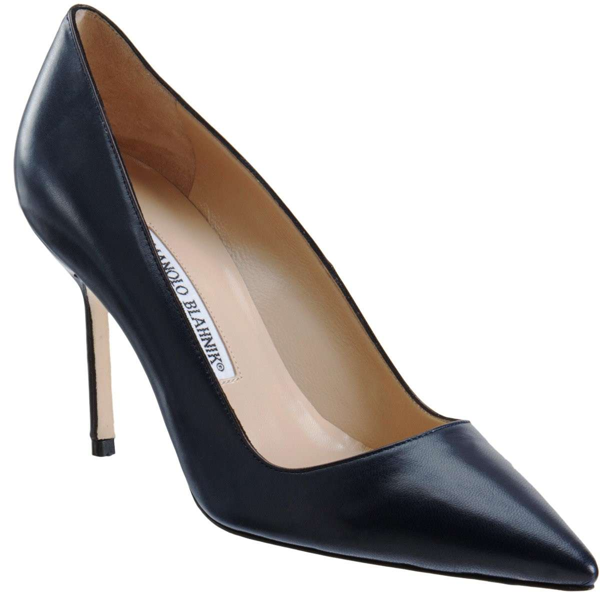 Pumps nere Manolo Blahnik