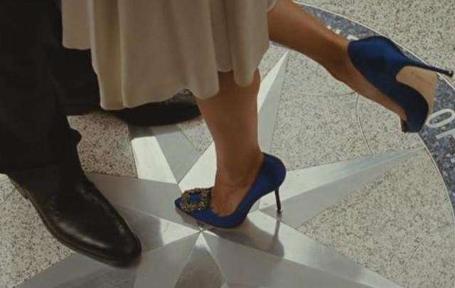 Le Hangisi di Manolo Blahnik sul set di Sex and The City