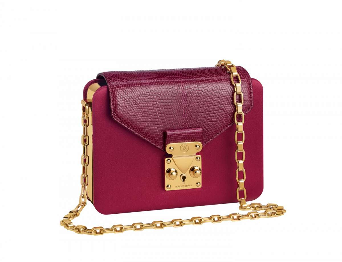 Mini bag bordeaux Louis Vuitton