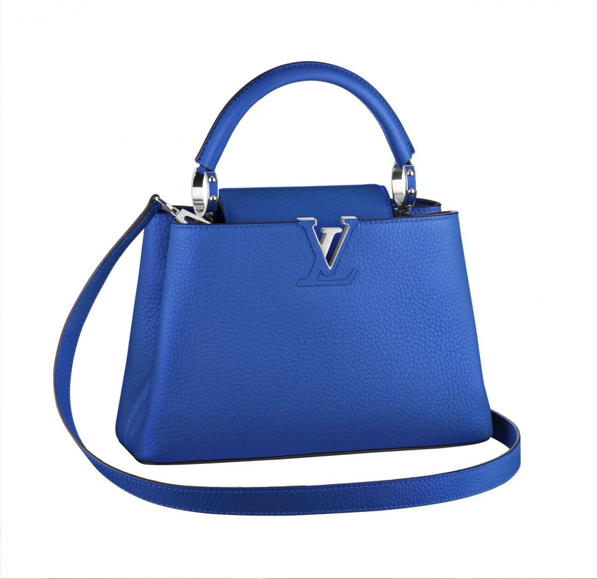 Mini bag blu elettrico Louis Vuitton