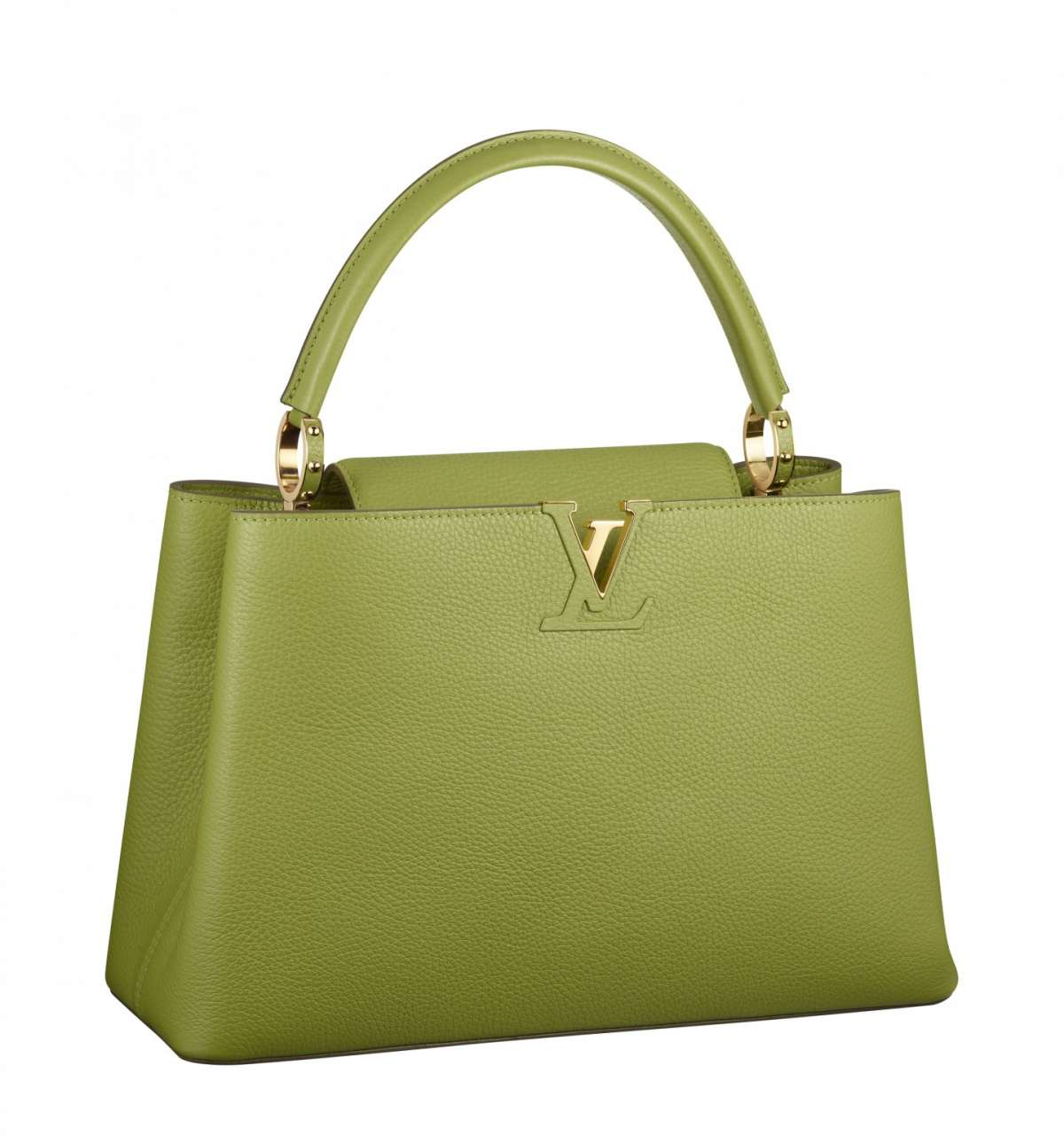 Handbag verde Louis Vuitton