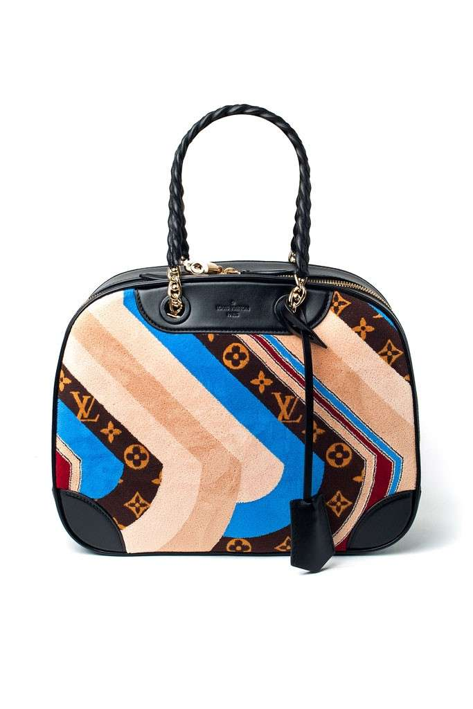 Handbag con stampa Louis Vuitton