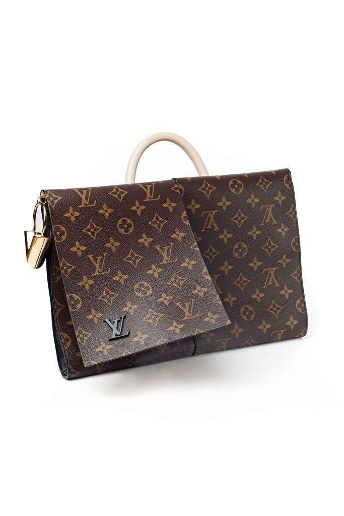 Cartella con monogramma Louis Vuitton
