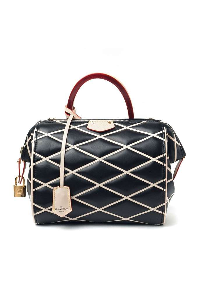 Bauletto nero Louis Vuitton