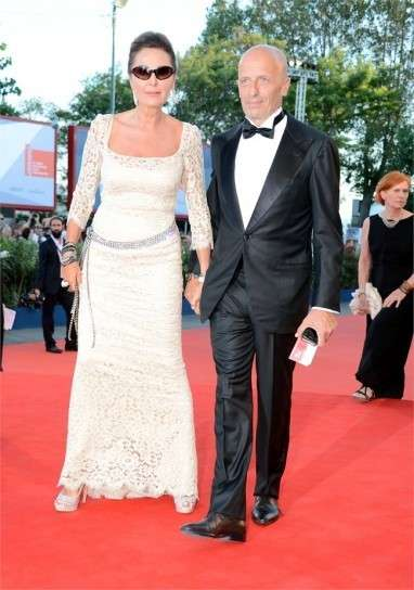 Look in bianco sul red carpet