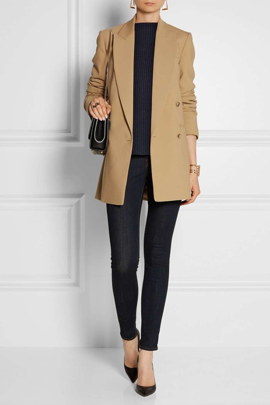 Trench cammello Michael Kors