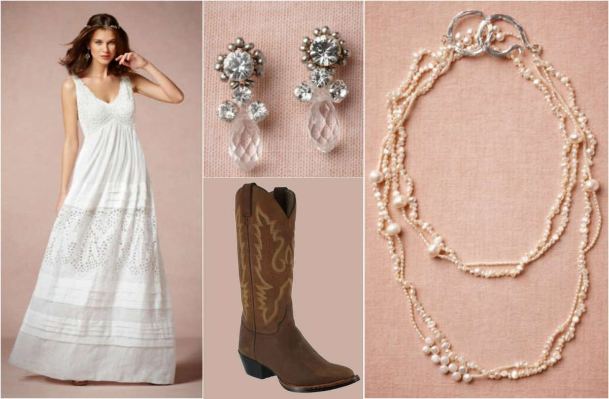 Gli accessori per un look in stile country