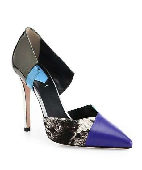 Pumps patchwork Fendi