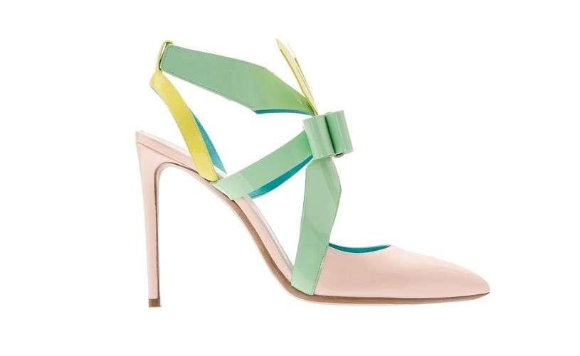 Pumps multicolor Nicholas Kirkwood