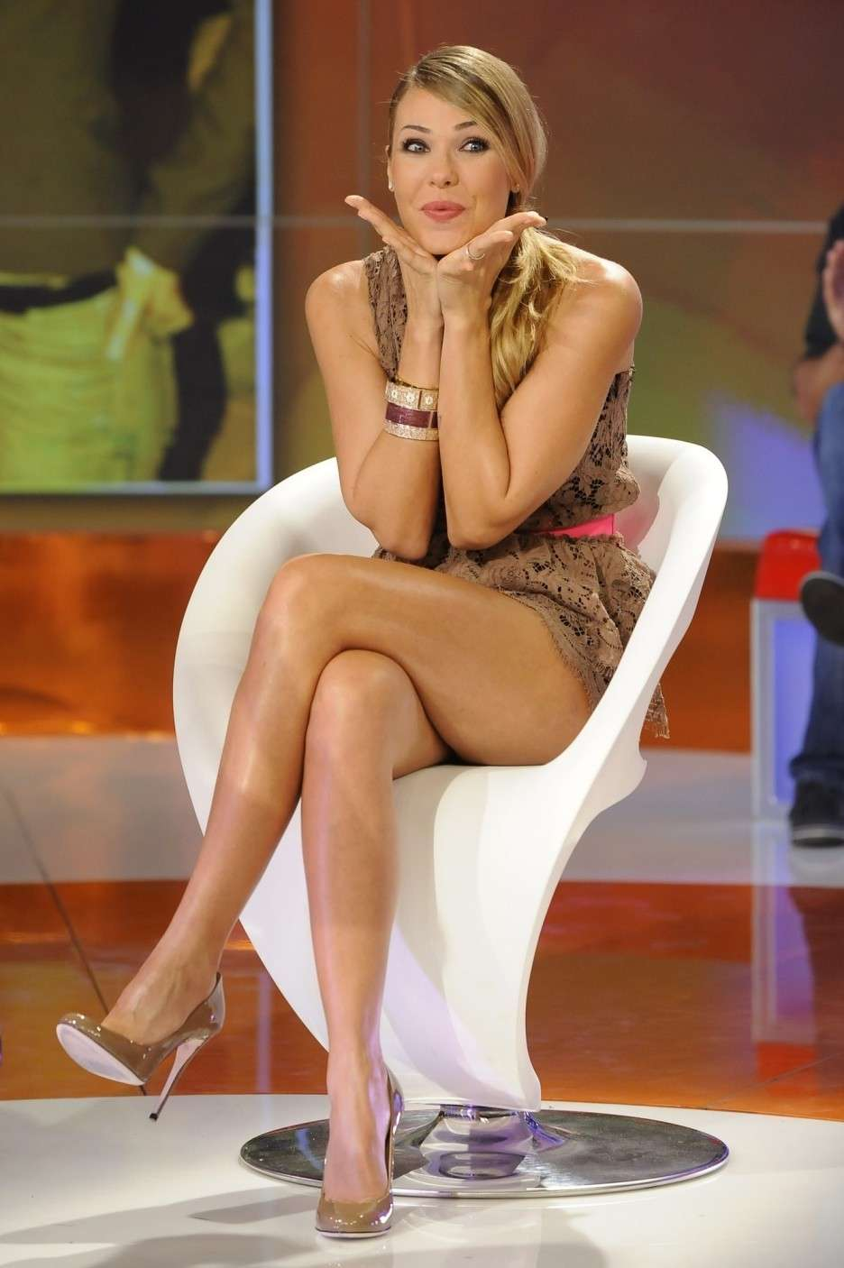 Ilary Blasi ospite in tv