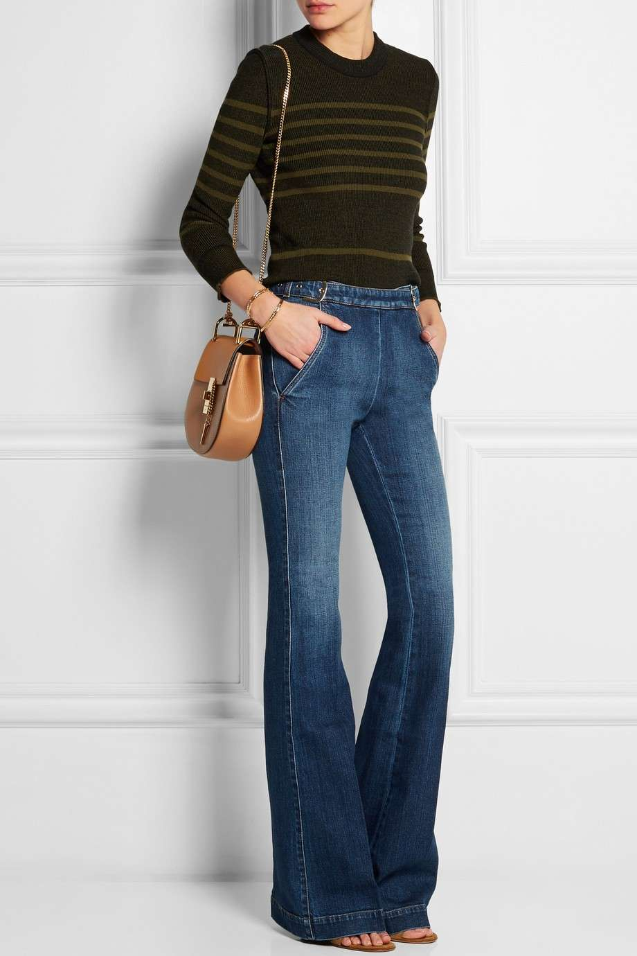 Jeans a zampa Stella McCartney