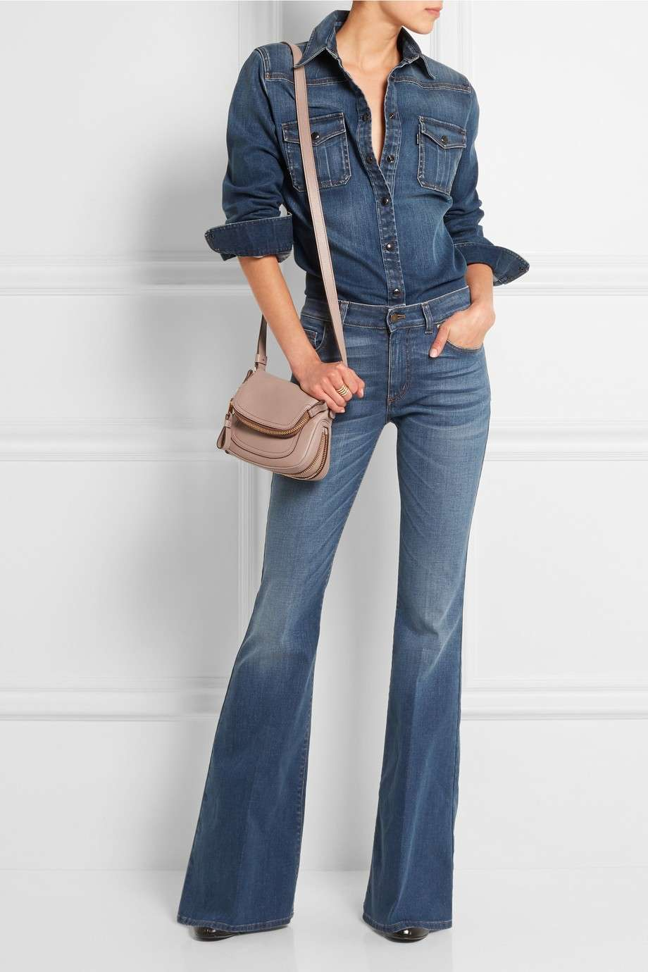 Look in total denim