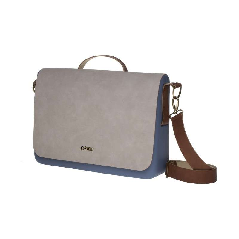 Messenger in pelle O Bag Fullspot