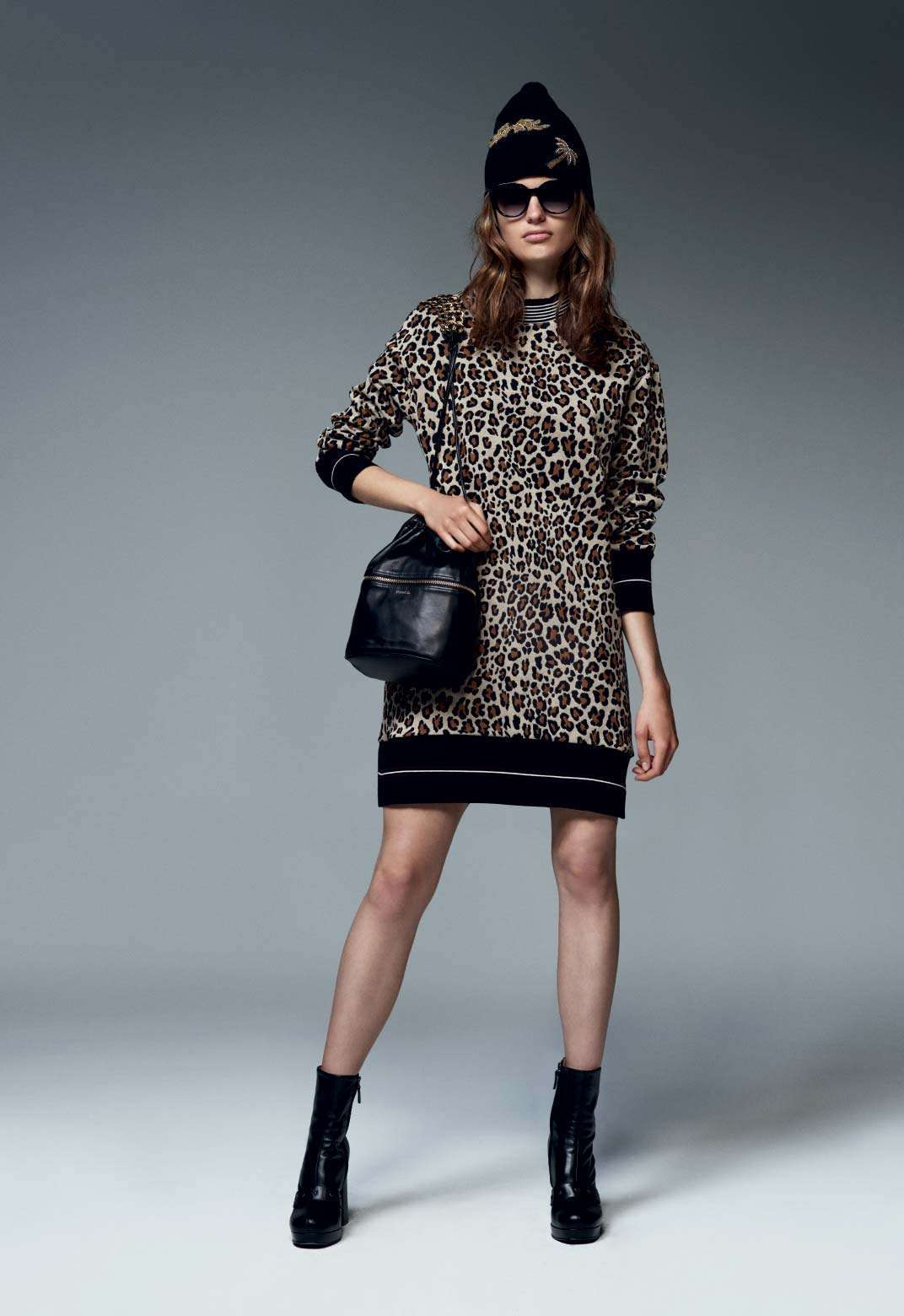 Minidress animalier