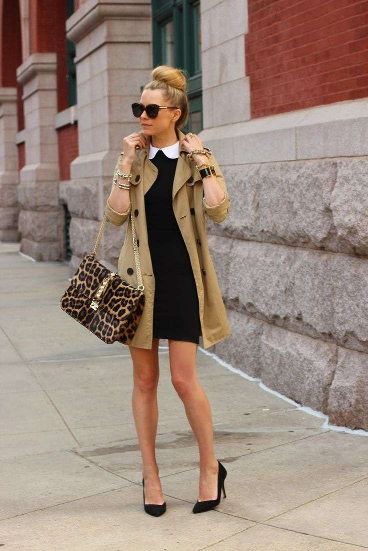 Look bon ton con trench