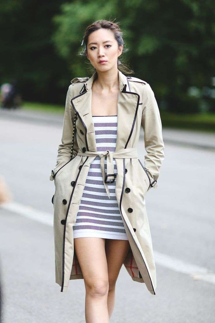 Minidress e trench