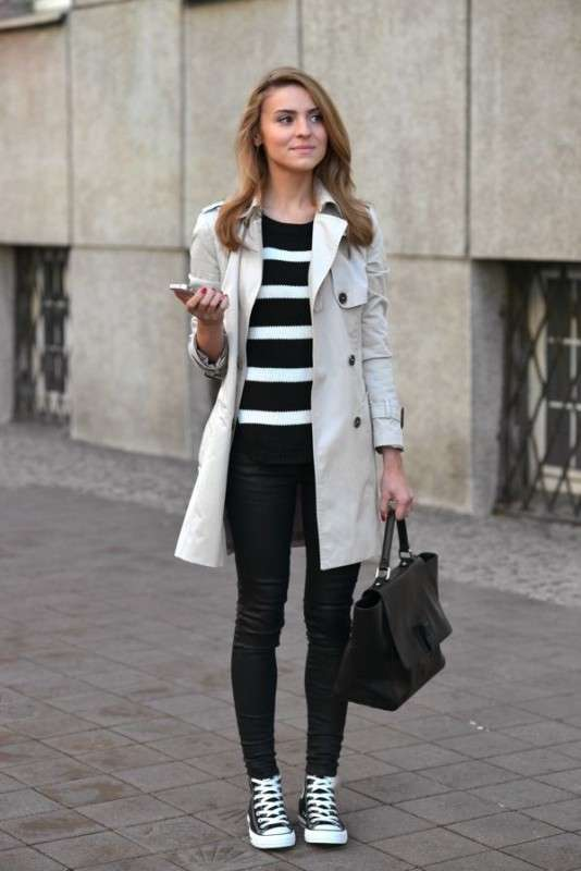 Sneakers e trench