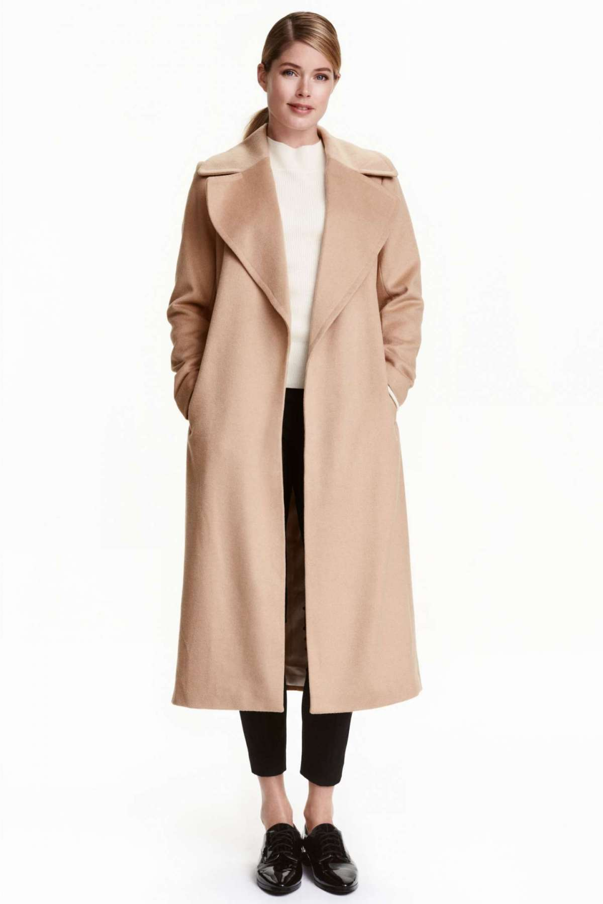 Cappotto lungo in lana H&M