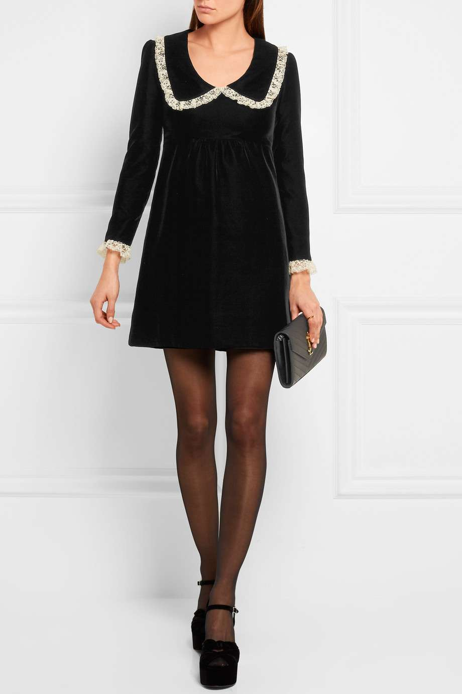 Minidress Saint Laurent