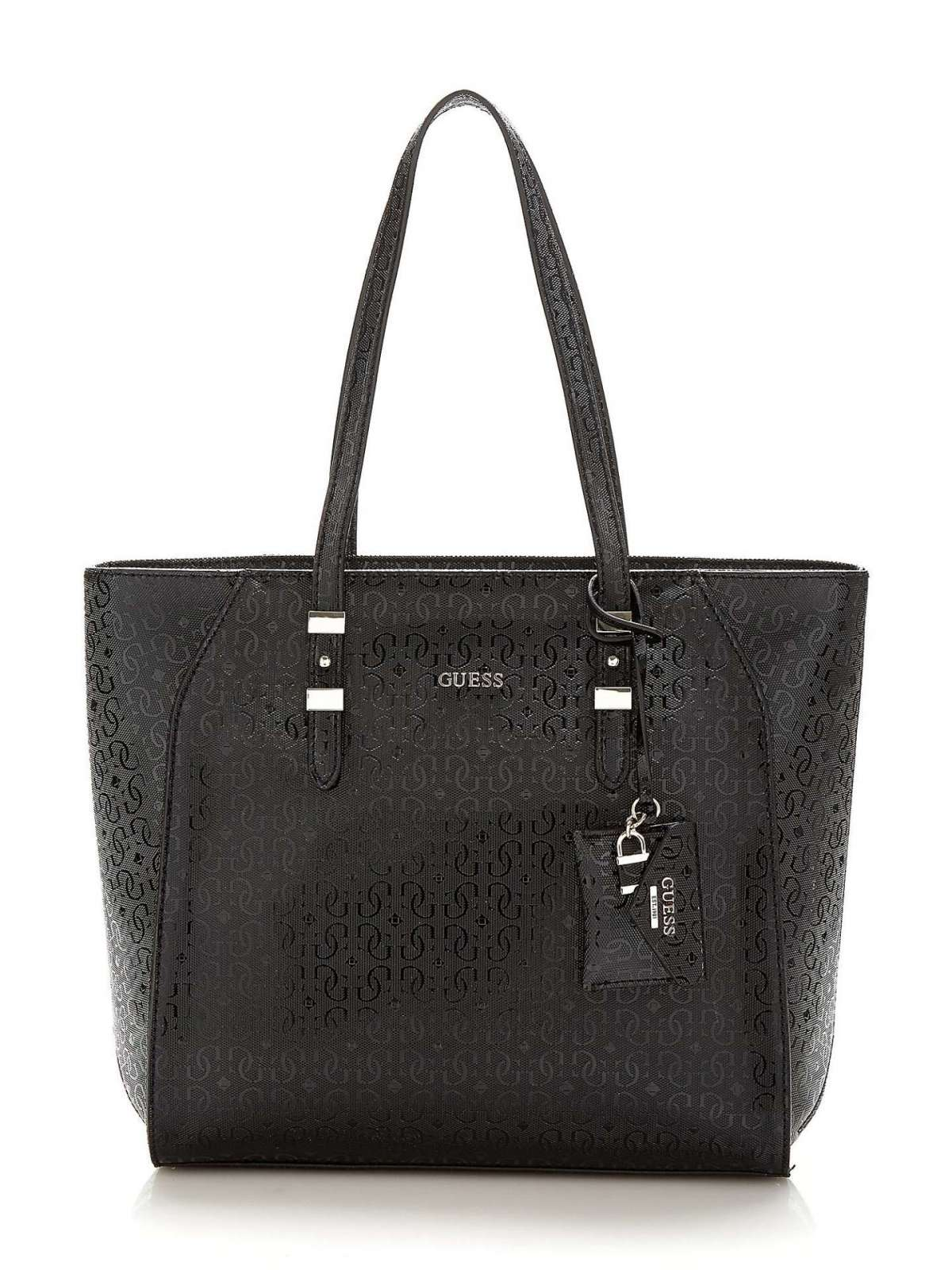 Shopper nera Guess