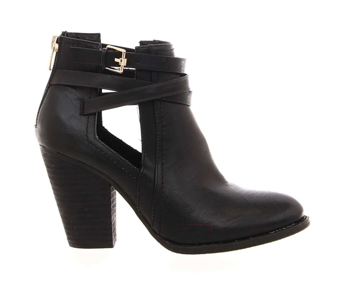 Ankle boot neri Blocco 31