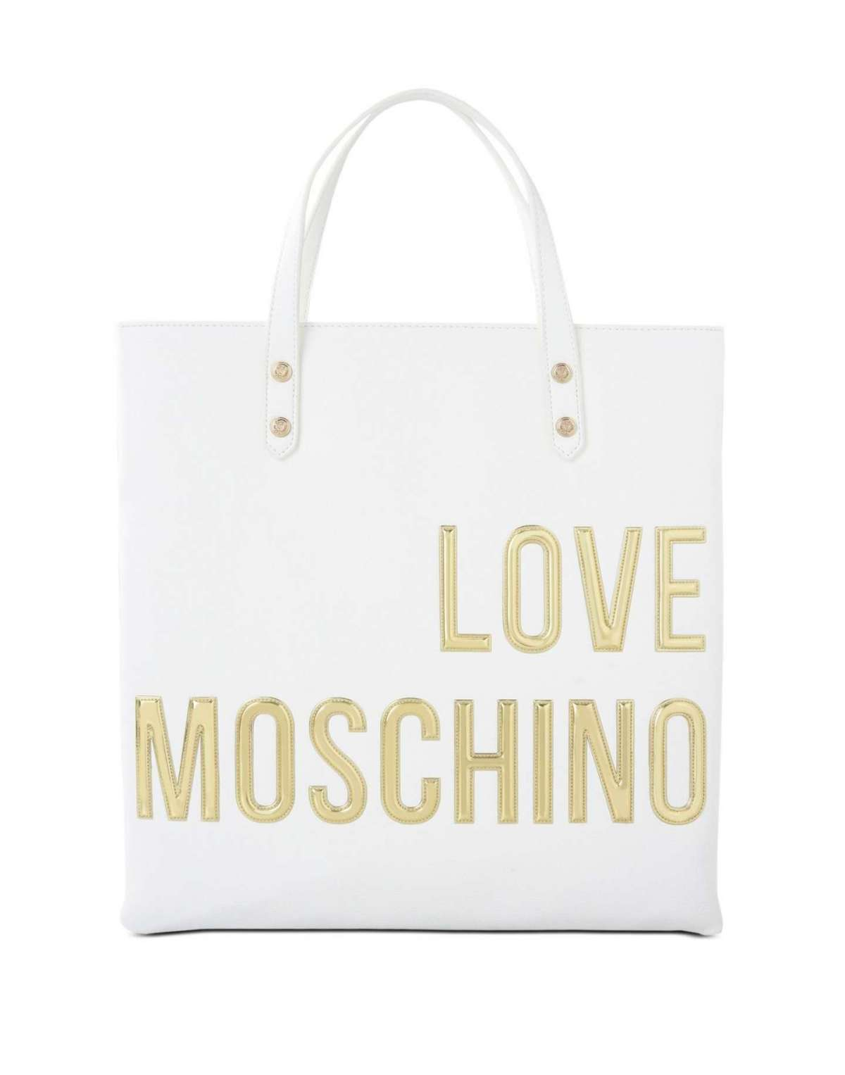 Shopper bianca Love Moschino