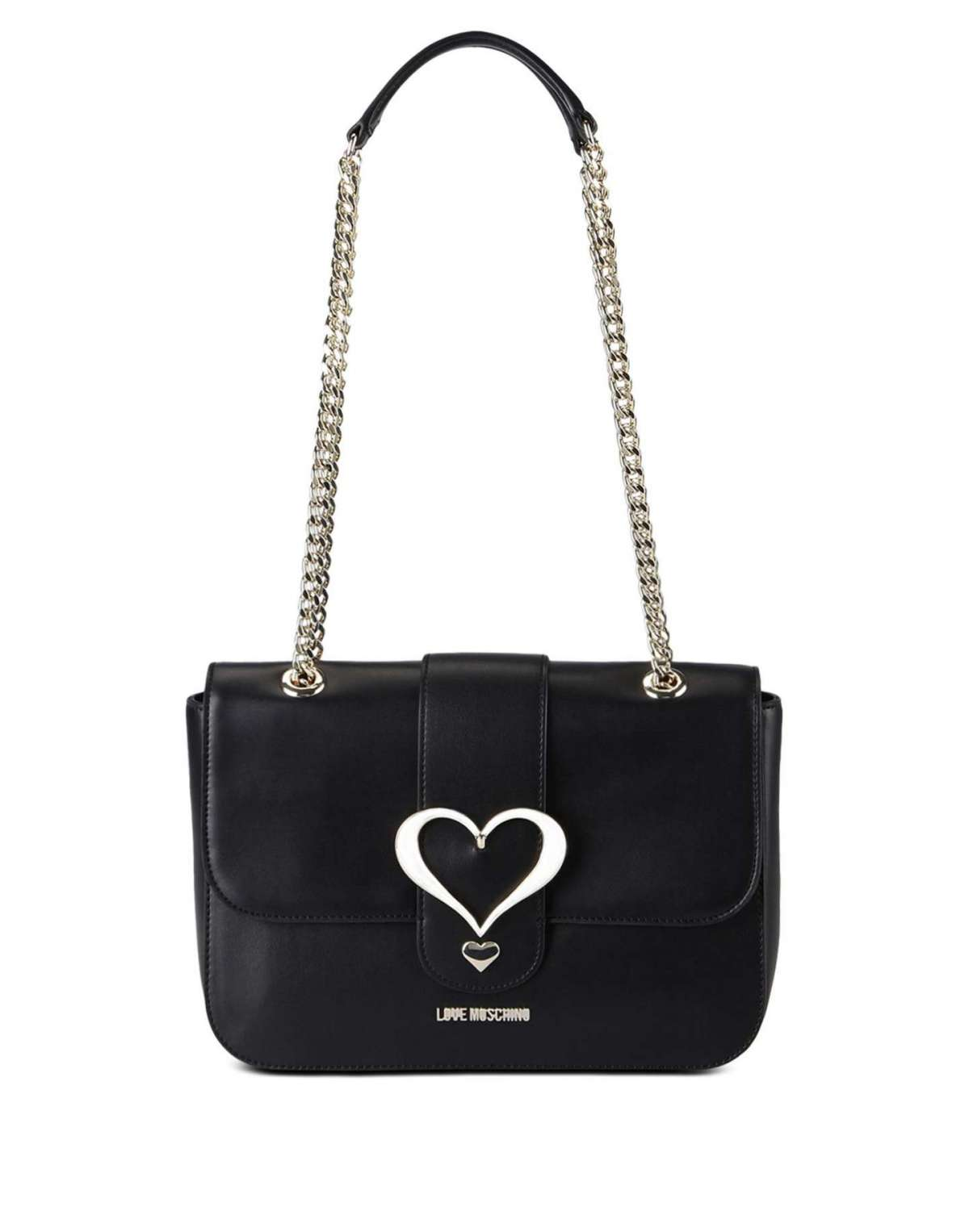 Shoulder bag nera Love Moschino