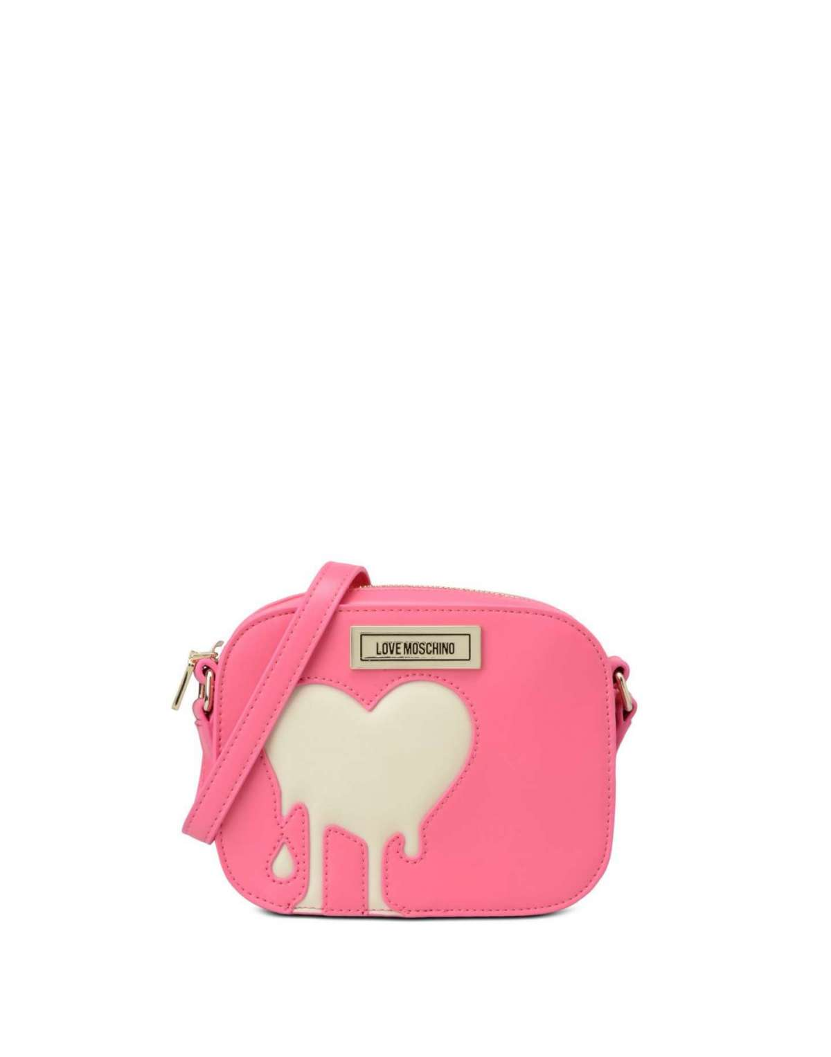 Mini bag rosa in pelle