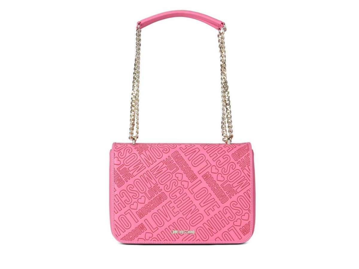 Shoulder bag rosa logata