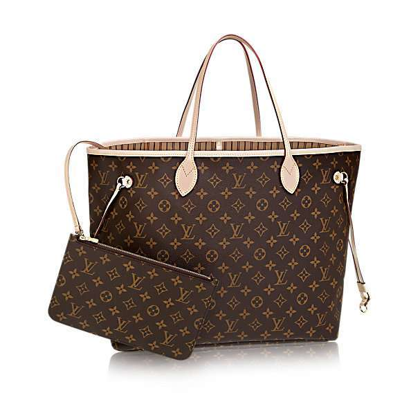 Shopper Neverfull GM Louis Vuitton in tela Monogram