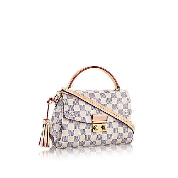 Borsa Louis Vuitton in tela Damier Azur