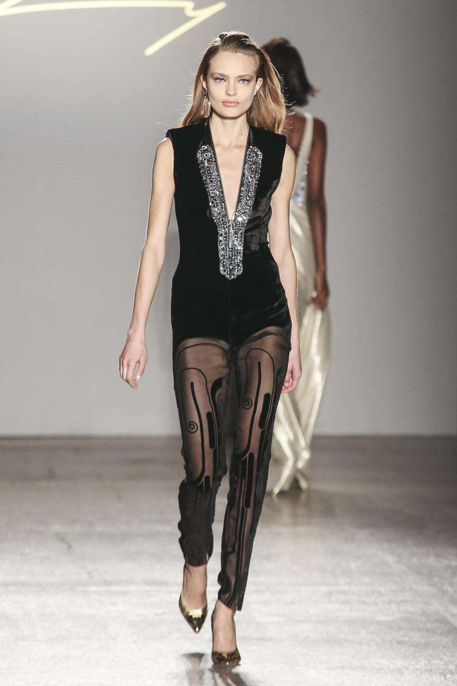 Jumpsuit in tulle Genny