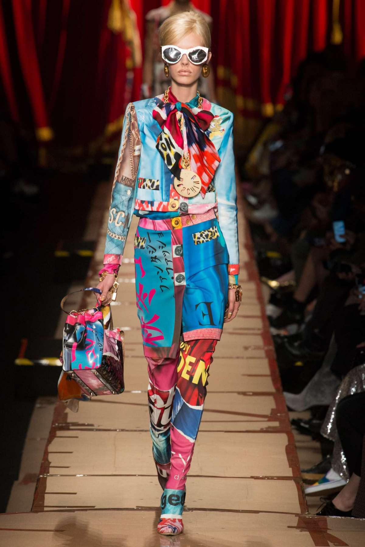 Look multicolor Moschino