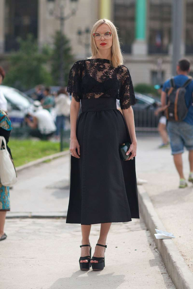 Look da occasione in total black