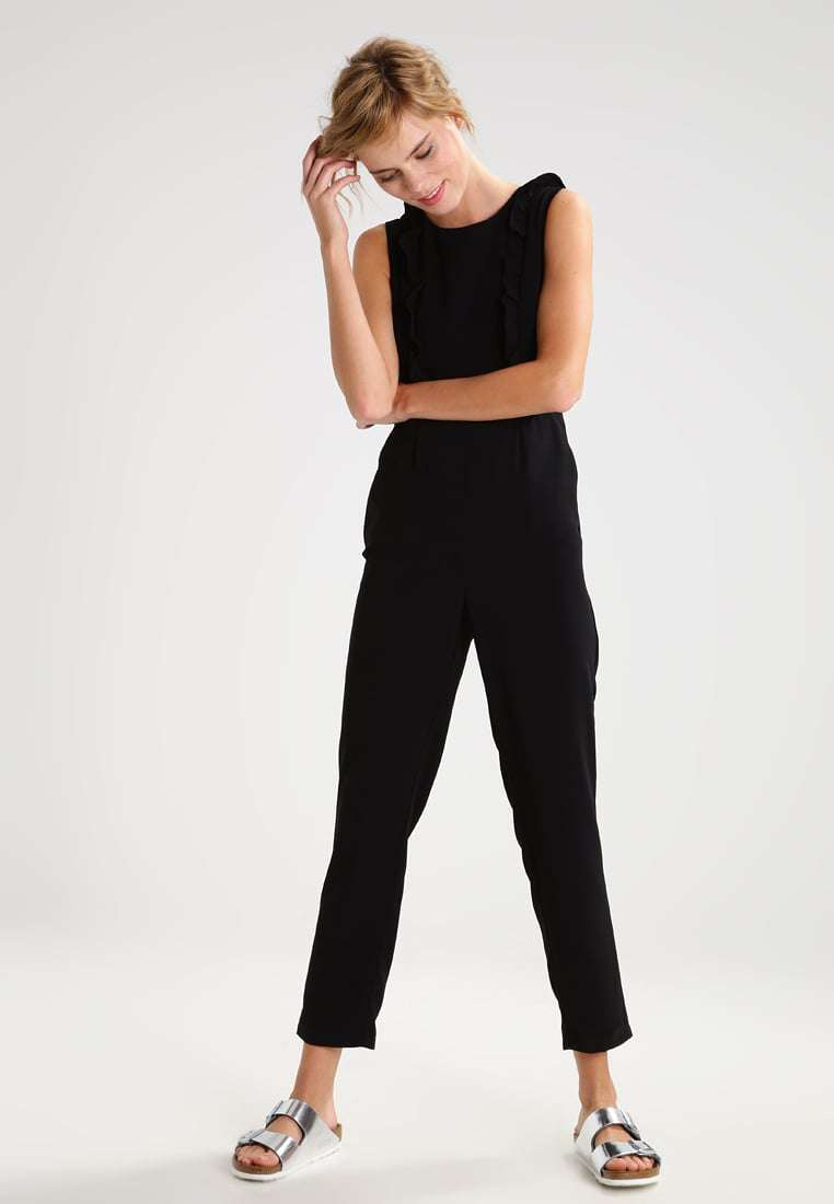 Tuta jumpsuit nera New Look