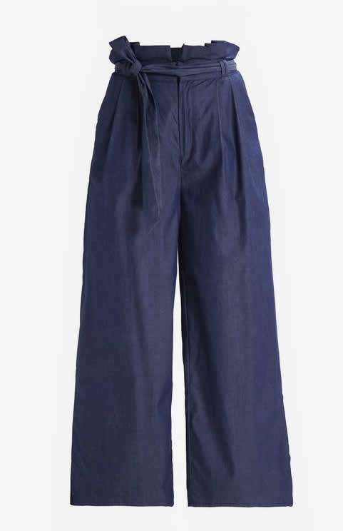 Pantaloni blu Fashion Union