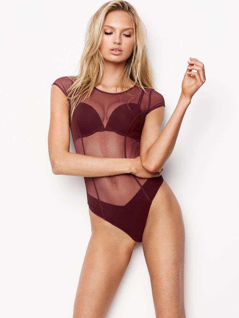 Body mesh bordeaux