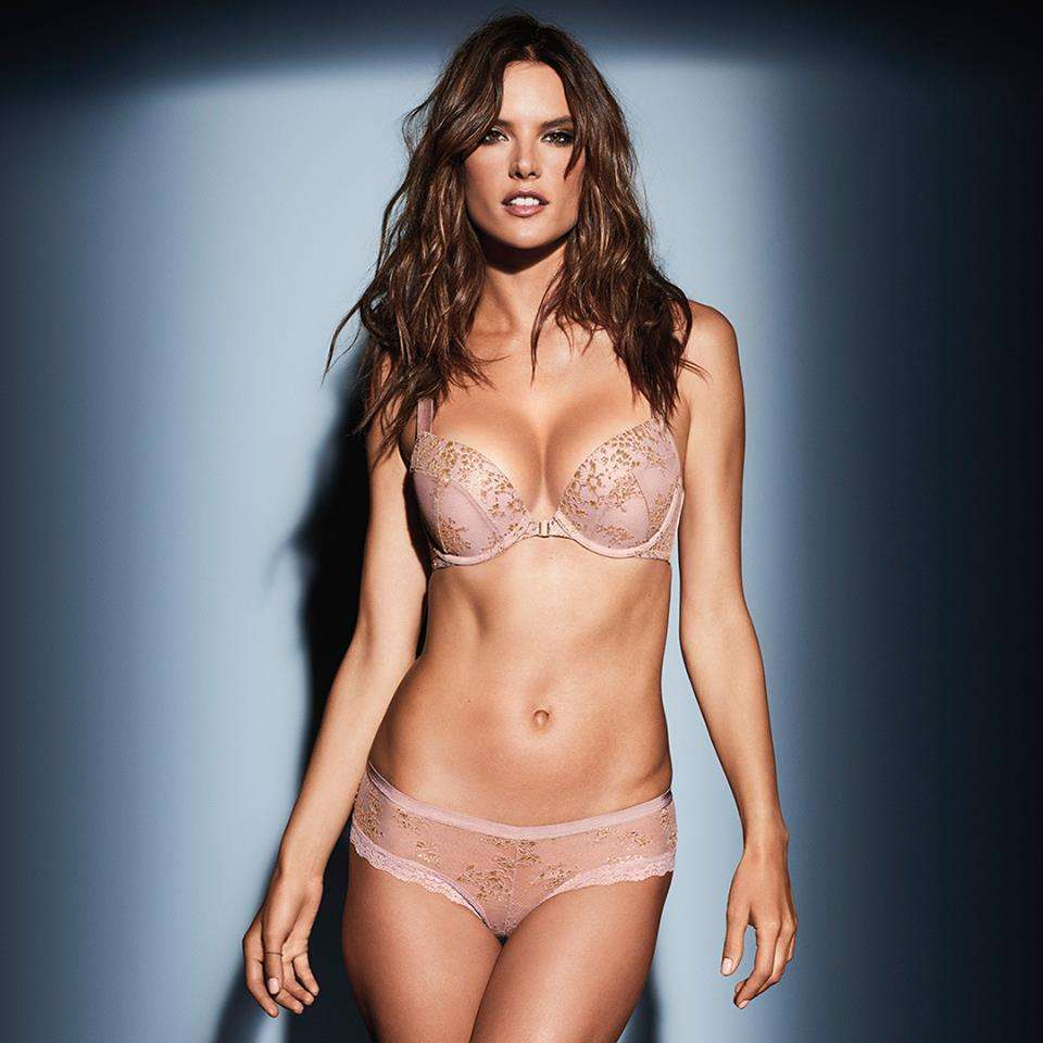 Reggiseno push up rosa Victoria's Secret