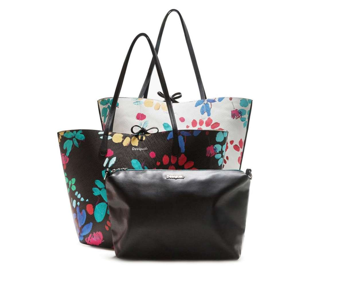 Shopper double-face Misha Capri Desigual