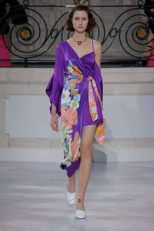 Abito Ultra Violet Peter Pilotto