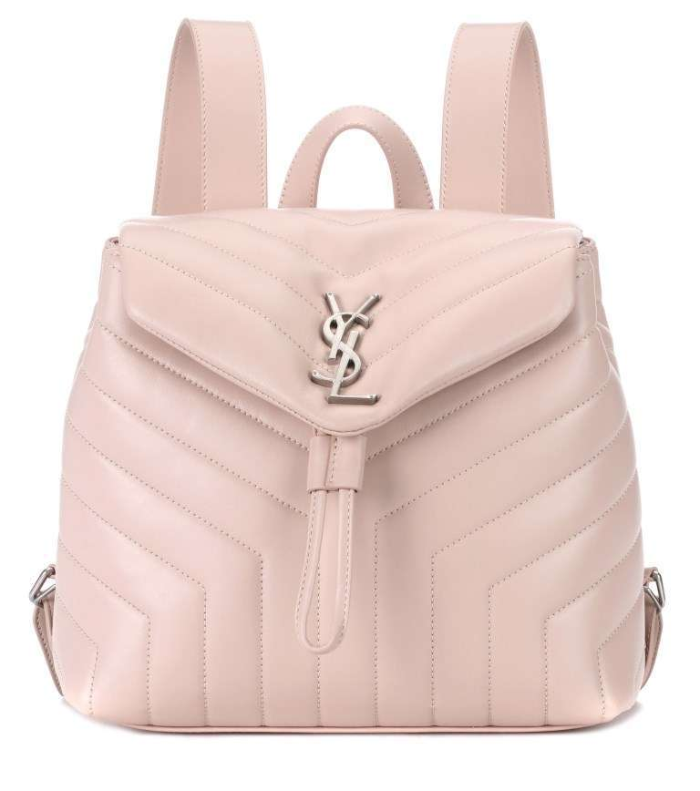 Zaino rosa Saint Laurent