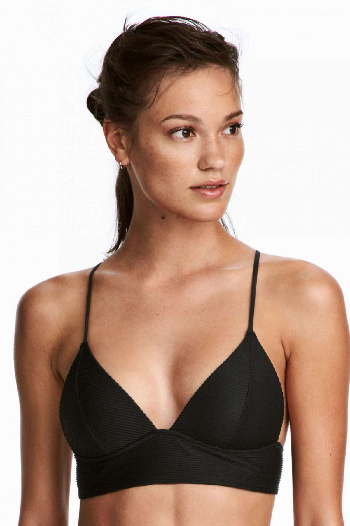 Top bikini push-up nero H&M