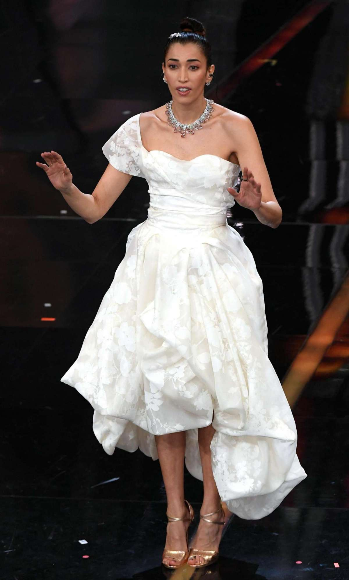 Nina Zilli in Vivienne Westwood Couture