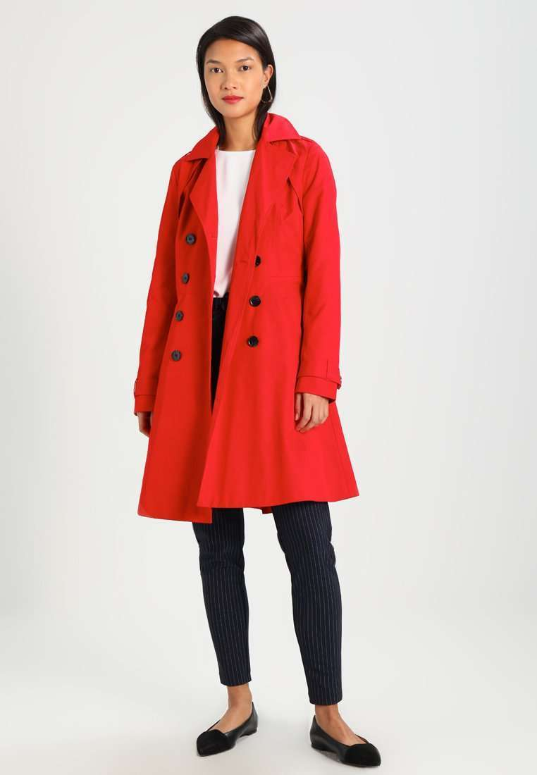 Trench rosso Anna Field